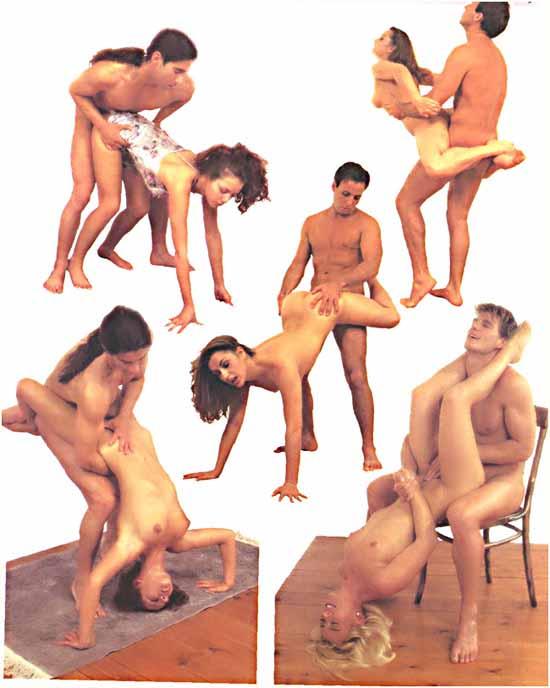 Самые новые позы в сексе
